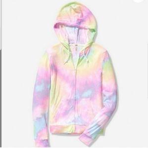 ⚡LAST ONE⚡Cozy VS Pink Tie Dye Hoodie Sweatshirt